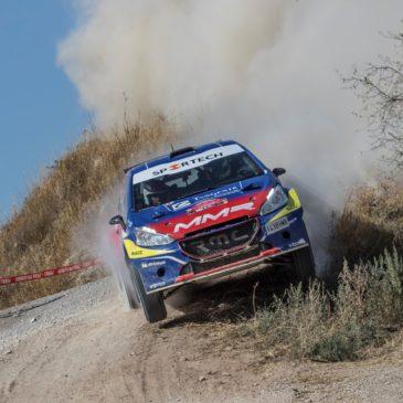 Los nuestros más cerca de la conquista del titulo del Campeonato de España de Rallyes de Tierra en Extremadura